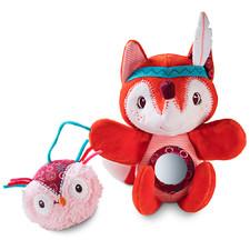 Ручная игрушка-погремушка Lilliputiens лисичка Алиса - Ручная игрушка-погремушка Lilliputiens  (арт. 83026)