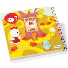 Курочка Офелия - Интерактивная книга-лабиринт  (арт. 86448)