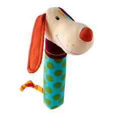 Собачка Джеф - Погремушка-пищалка  (арт. 86278)