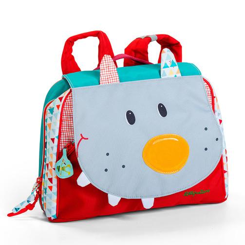 Дошкольный рюкзак Lilliputiens волк Николас  (арт. 86775)