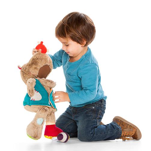 Развивающая игрушка медведь Цезарь  (арт. 86784)