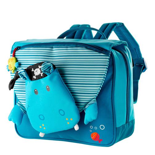 Дошкільний рюкзак Lilliputiens бегемотик Арнольд  (арт. 86174)