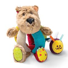 медведь Цезарь - Игрушка-погремушка  (арт. 86785)