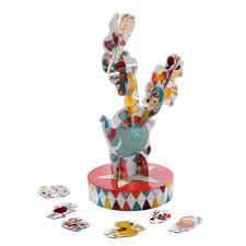 Настольная игра-пазл Lilliputiens цирк Equilibrius - Настольная игра-пазл Lilliputiens  (арт. 86438)