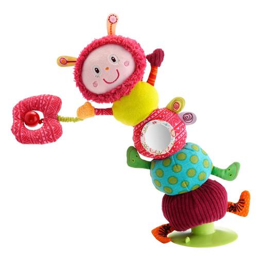 Мягкая игрушка-балансир Lilliputiens гусеница Джульетта  (арт. 86373)