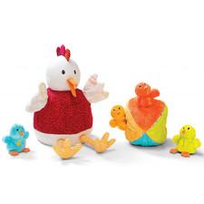 Кукольный театр Lilliputiens Курочка Офелия и ее цыплята - Кукольный театр Lilliputiens  (арт. 86635)