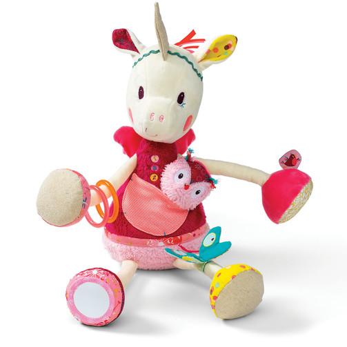 Развивающая игрушка Lilliputiensе единорог Луиза  (арт. 86779)
