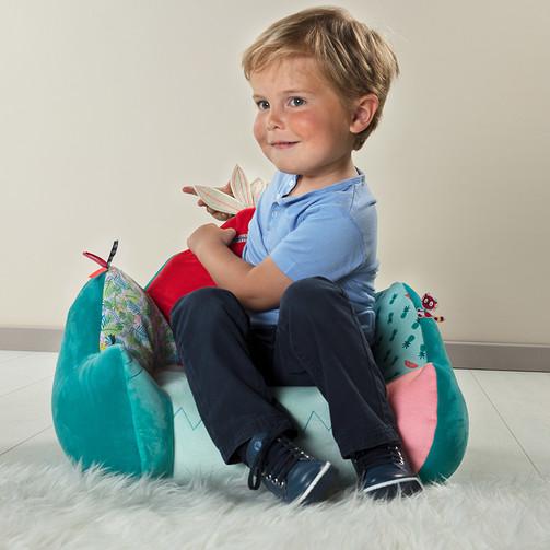 Детское кресло Lilliputiens лемур Джордж  (арт. 83022)