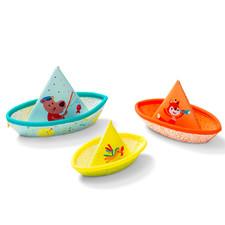 Игрушка для ванны Lilliputiens три маленьких кораблика - Игрушка для ванны Lilliputiens  (арт. 86772)