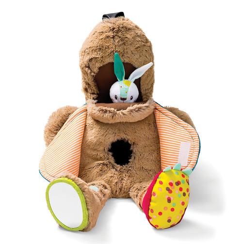 Развивающая игрушка Lilliputiens медведь Цезарь  (арт. 86784)