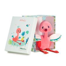 Мягкая игрушка Lilliputiens фламинго Анаис - Мягкая игрушка Lilliputiens  (арт. 83087)