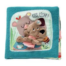Мягкая книга Lilliputiens Цезарь, поцелуй!