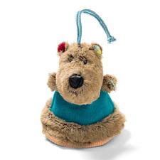 Двусторонняя игрушка-прорезыватель Lilliputiens медведь Цезарь - Двусторонняя игрушка-прорезыватель Lilliputiens  (арт. 86818)