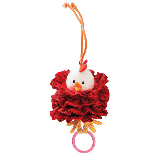 Вібруюча іграшка з кільцем Lilliputiens курочка Офелія  (арт. 86753)