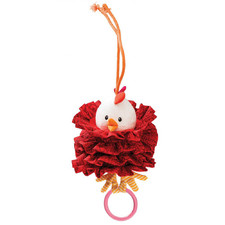 Вибрирующая игрушка c кольцом Lilliputiens курочка Офелия - Вибрирующая игрушка c кольцом Lilliputiens  (арт. 86753)
