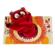 Кукольный театр-книга Lilliputiens лемур Джордж - Кукольный театр-книга Lilliputiens  (арт. 86461)